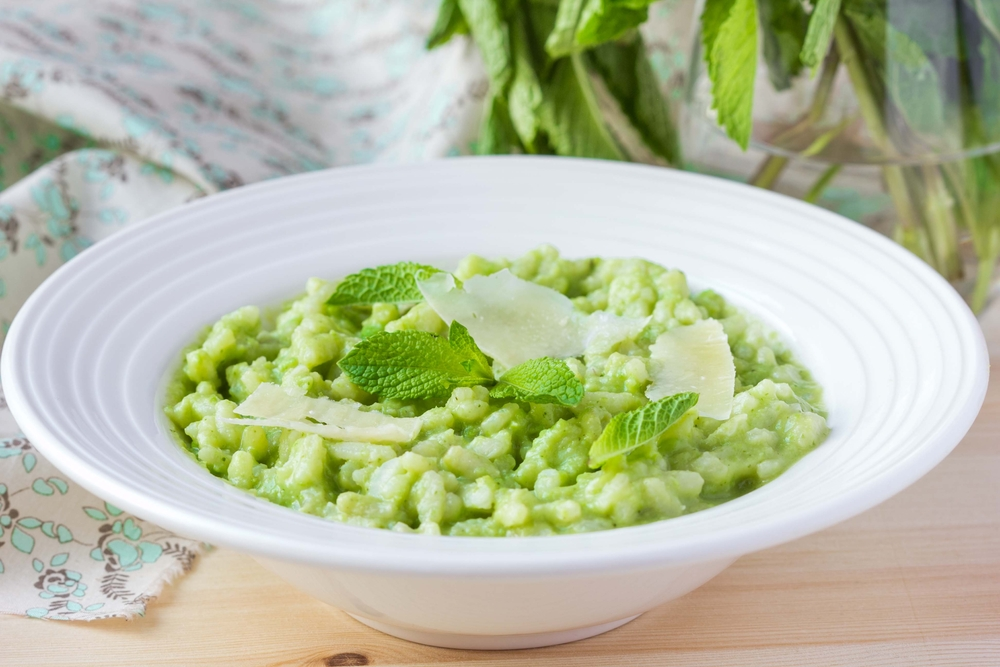 Fresh Spring Pea Risotto Recipe