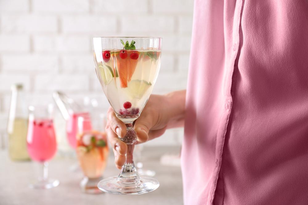 Spring White Wine Spritzer