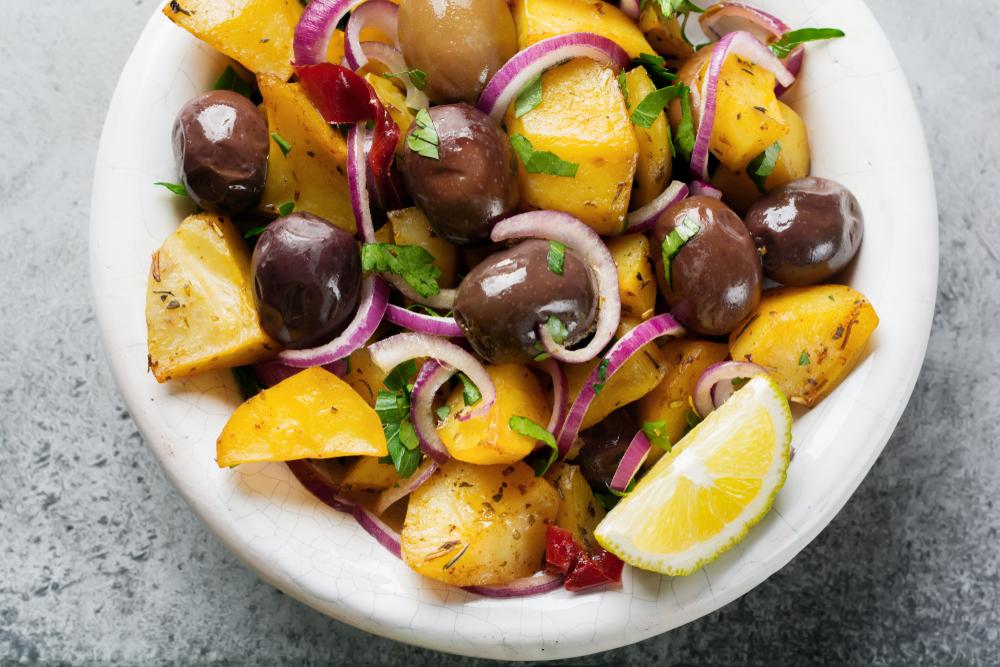 Ricette per l'estate: insalata di patate calde