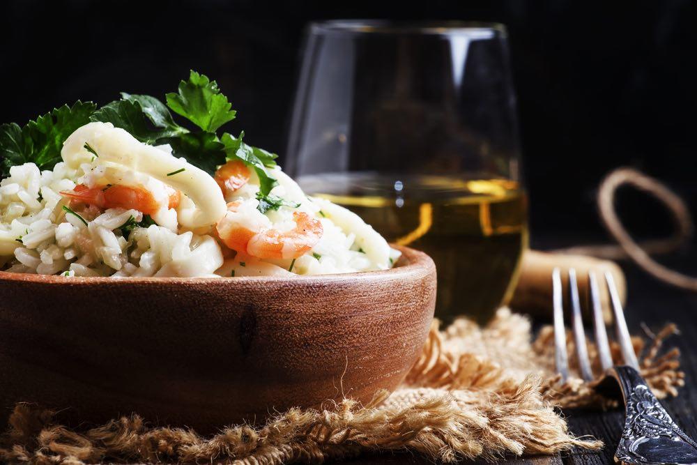 Come abbinare il vino al risotto