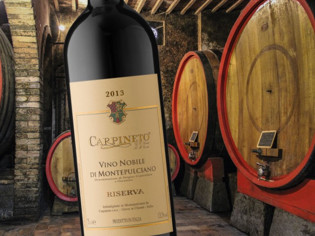 Give the Gift of Nobile di Montepulciano Riserva 2013 This Christmas!
