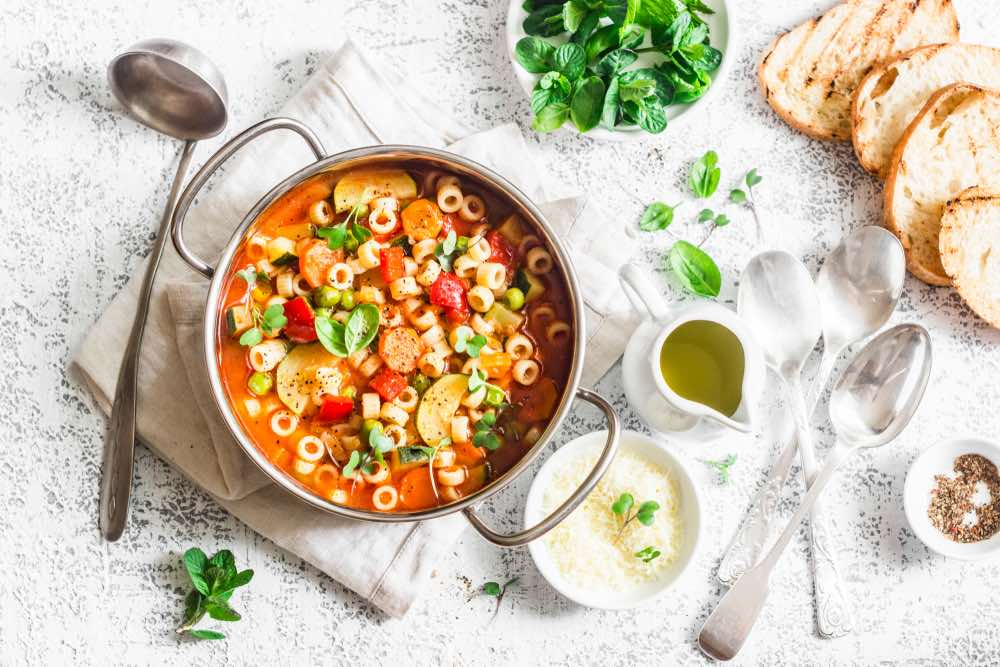 Best Wine Pairings for Minestrone Soup