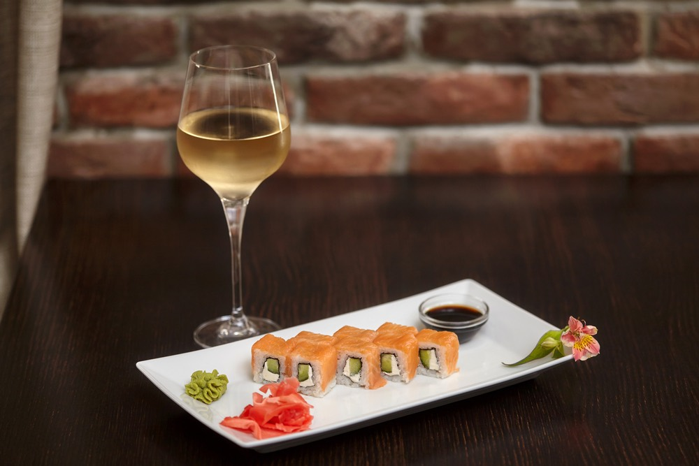 La relazione tra vino e sushi
