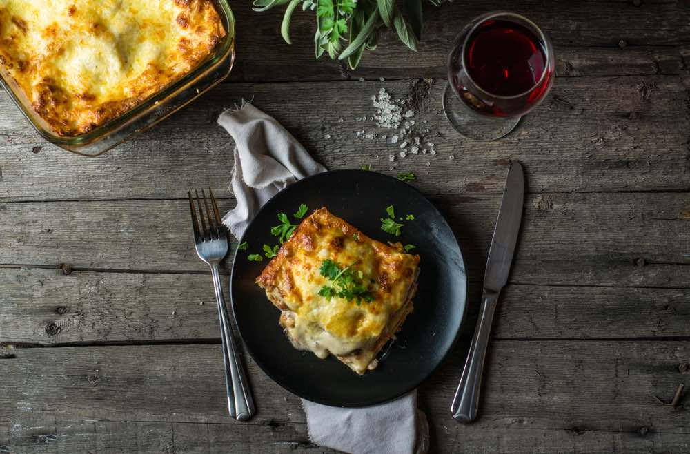 Every Lasagna Deserves Its Own Wine