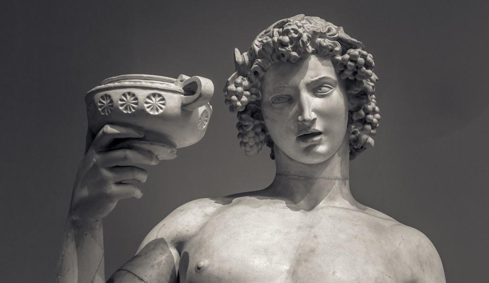 Bacco, le origini del dio del vino