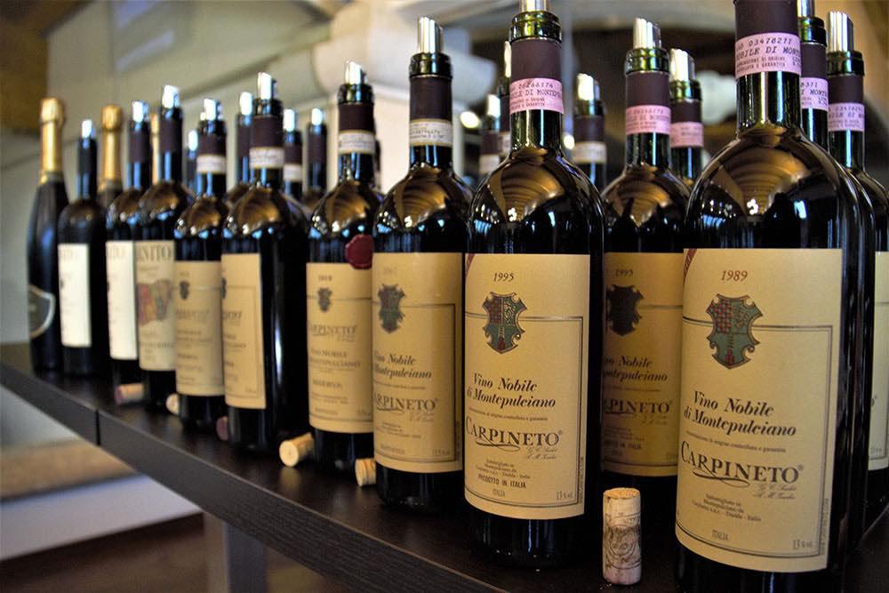 Nobile di Montepulciano: trent'anni di storia Carpineto in una degustazione