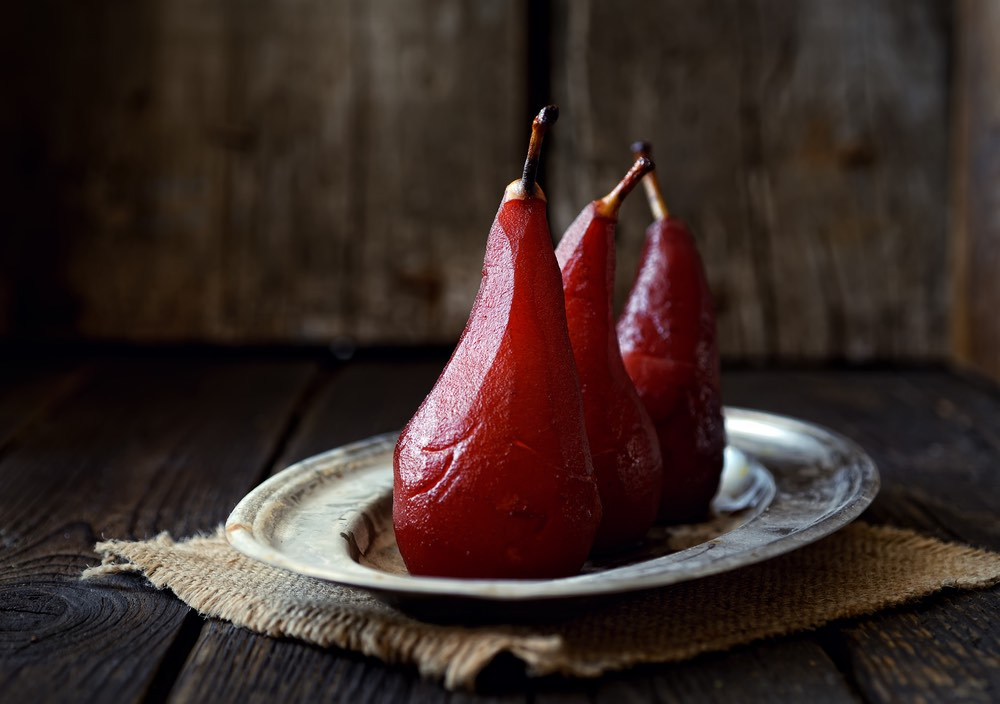 Pears & Red Wine Recipe