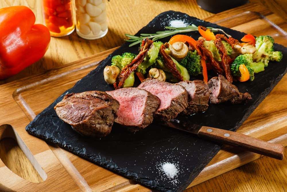 Grilled Steak & Vegetable Recipe