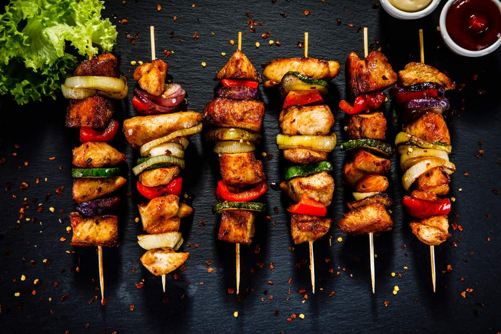 Hot & Spicy Pork Skewers Recipe