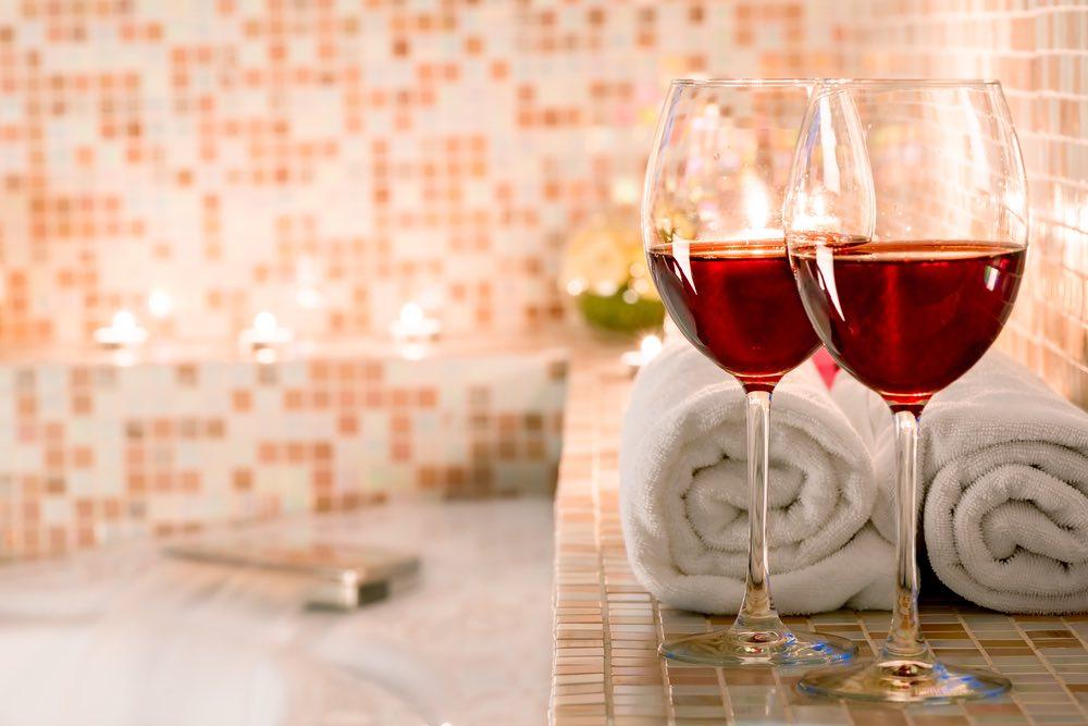 L'importanza di fare il bagno nel vino