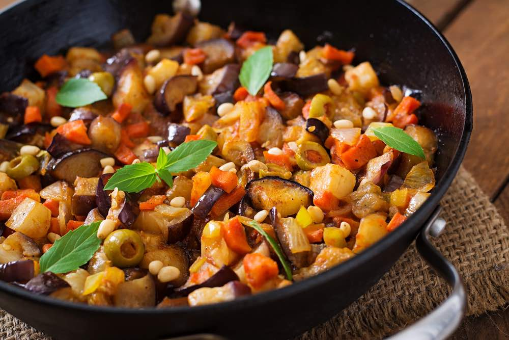 Summer Caponata Recipe & Wine Pairing