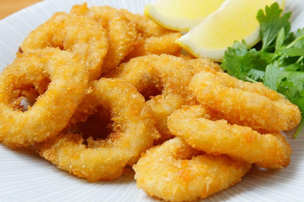 La ricetta della frittura di calamari