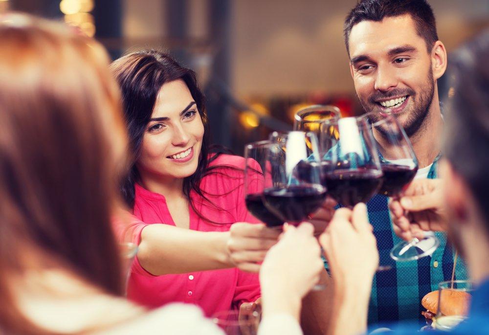 Il vino rosso combatte l'ansia