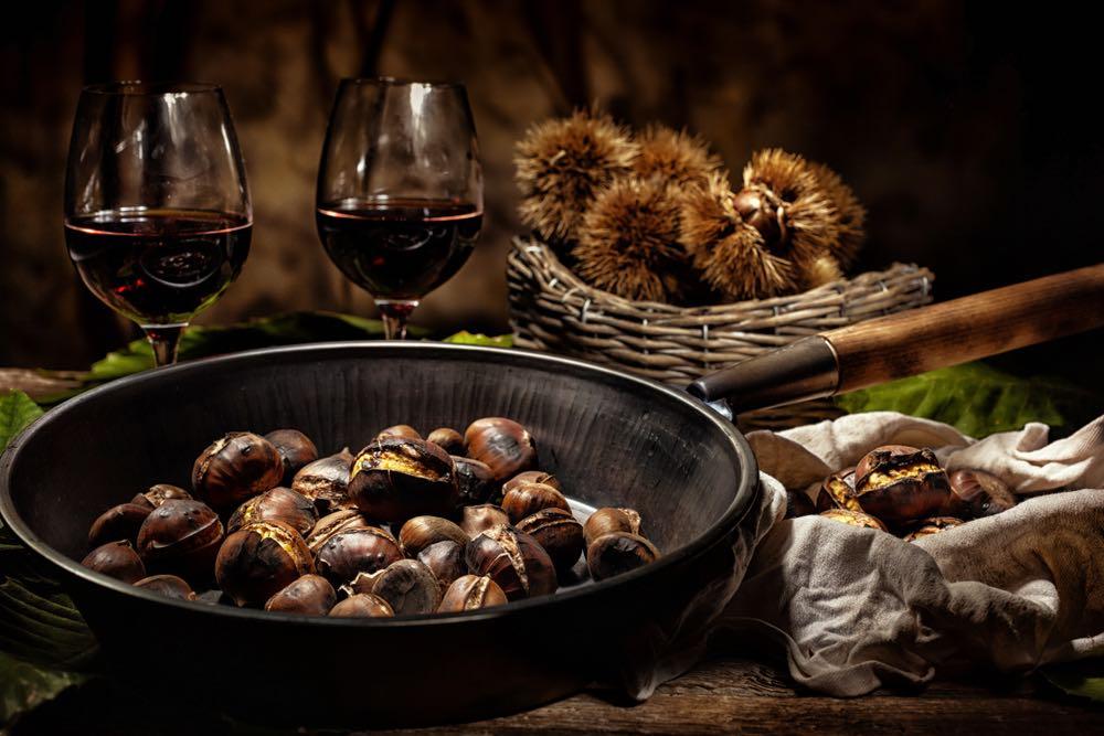 Tre ricette con le castagne da abbinare al vino