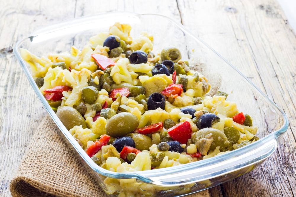 La ricetta dell'insalata di rinforzo