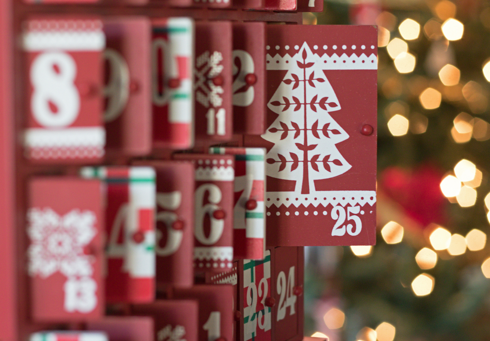 Make Your Own Wine Advent Calendar