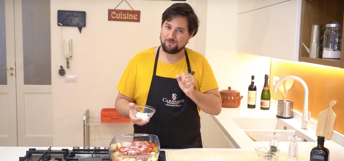 Cucino Io! Ep. 6 - Brunello di Montalcino e Agnello al forno con patate e piselli