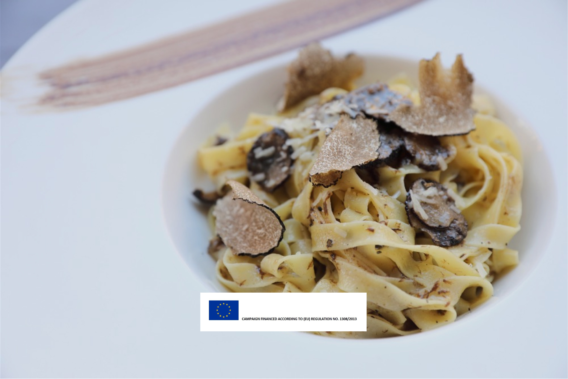 Homemade Fettuccine with Fresh Truffle Recipe